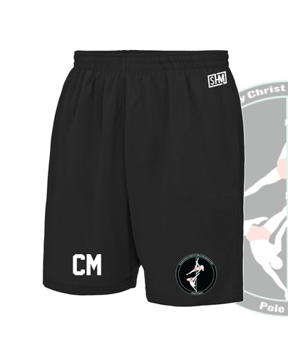CCCU Pole Black Unisex Shorts (All Print)