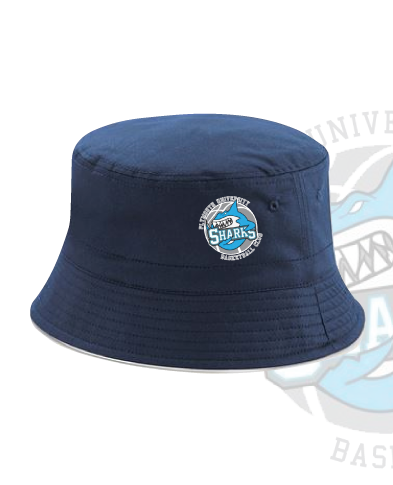 Plymouth University Basketball Navy Bucket Hat (All Embroidery)