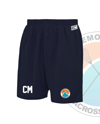 Bournemouth Town Lacrosse Navy Unisex Shorts (All Print)