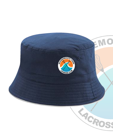 Bournemouth Town Lacrosse Navy Bucket Hat (All Embroidery)