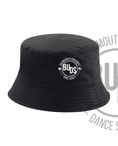 Bournemouth University Dance Black Bucket Hat (All Embroidery)