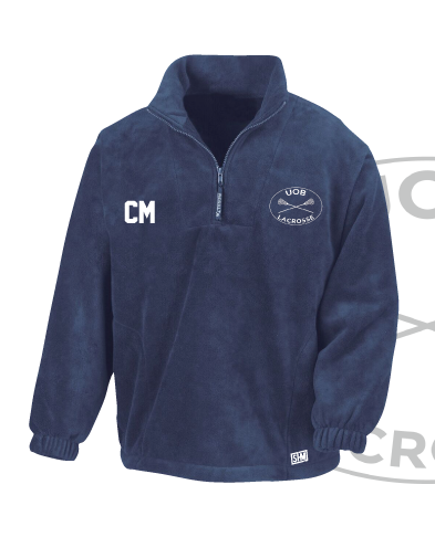 Birmingham University Lacrosse Navy Unisex Fleece (All Embroidery)