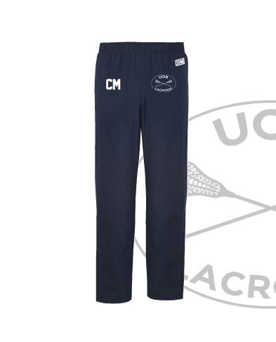 Birmingham University Lacrosse Navy Unisex Trackies (All Embroidery)