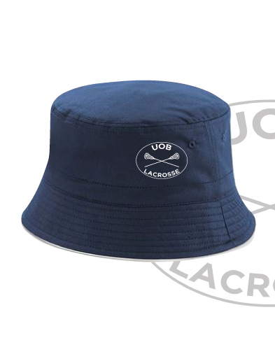 Birmingham University Lacrosse Navy Bucket Hat (All Embroidery)
