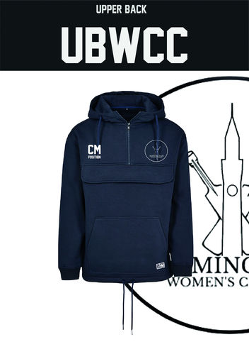 Birmingham Uni Womens Cricket Navy Pull Over (All Print)